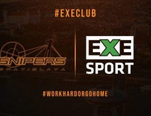 Snipers víta nového partnera EXE SPORT!